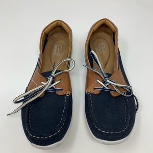 Clark's Collection Arbor slip on boat shoes